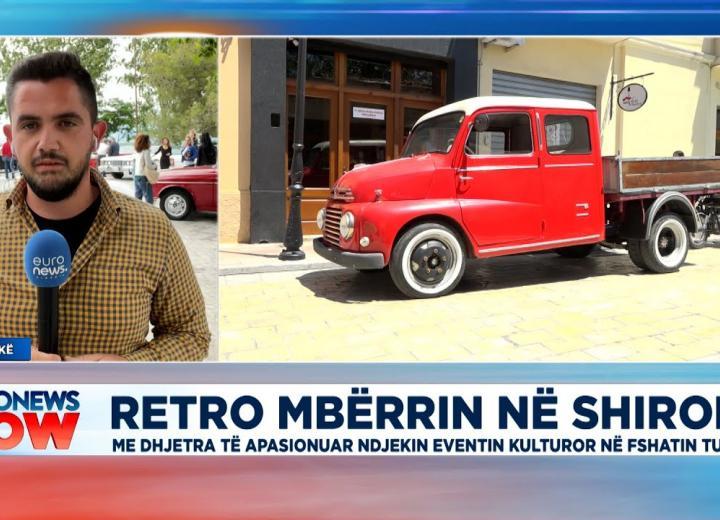 """Sot dita e dytë e paradës """"Retro"""" në Shkodër, gazetari Teodor Gjerga tregon detaje"""